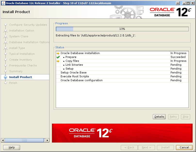 Oracle Database 12c Release 1 (12 1 0) Installation On