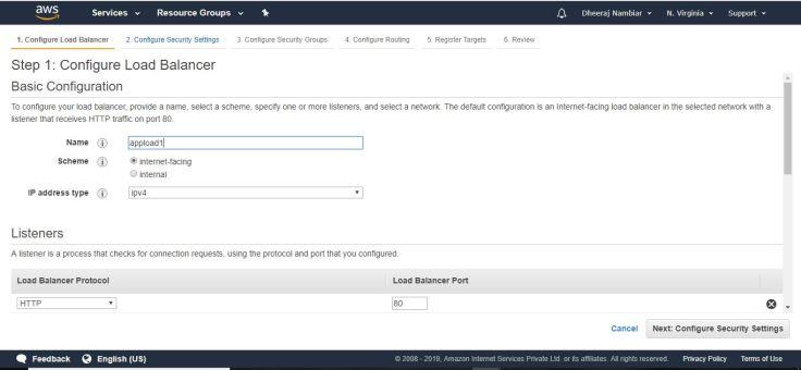 AWS-Elastic Load Balancer Tutorial – dinfratechsource